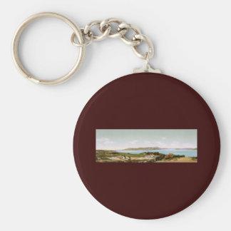 The Golden Gate and Mount Tamalpais San Francisco Basic Round Button Key Ring