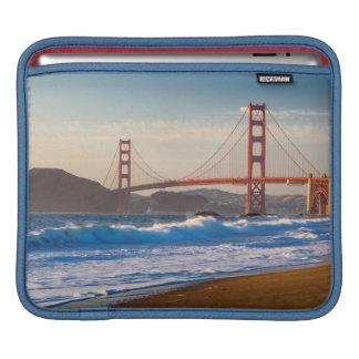 The Golden Gate Bridge From Baker Beach iPad Sleeve