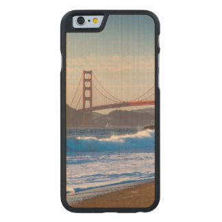 The Golden Gate Bridge From Baker Beach Carved® Maple iPhone 6 Case
