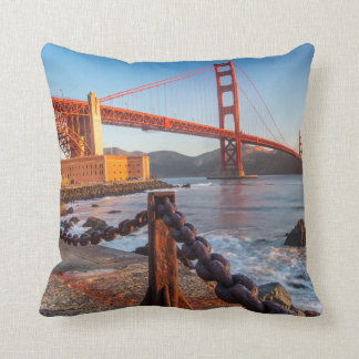 The Golden Gate Bridge From Fort Point Cushion