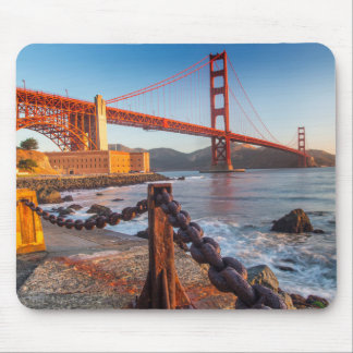 The Golden Gate Bridge From Fort Point Mouse Pad