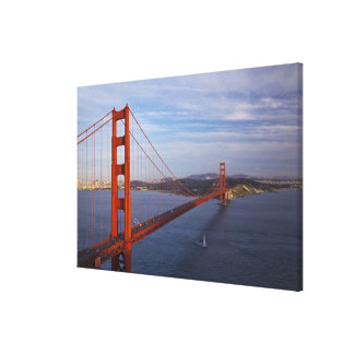 The Golden Gate Bridge from the Marin Canvas Print
