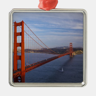 The Golden Gate Bridge from the Marin Christmas Ornament