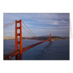 The Golden Gate Bridge from the Marin Greeting Card