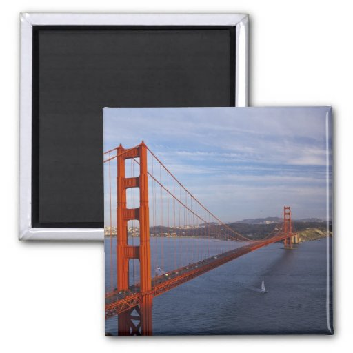 The Golden Gate Bridge from the Marin Refrigerator Magnets