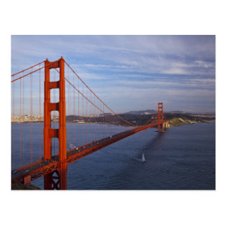 The Golden Gate Bridge from the Marin Postcard