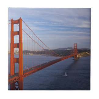 The Golden Gate Bridge from the Marin Tile