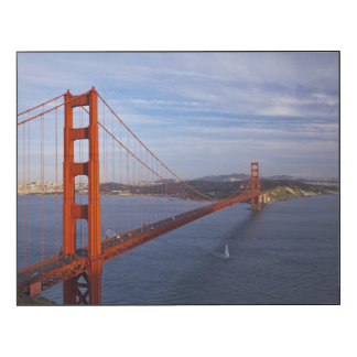 The Golden Gate Bridge from the Marin