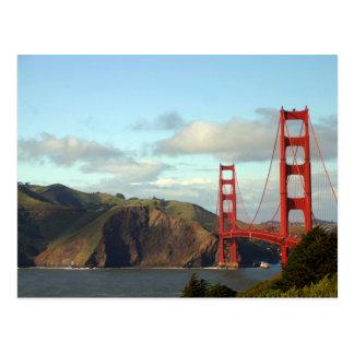 The Golden Gate Bridge Post Card