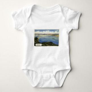 The Golden Gate Bridge Vintage Postcard T Shirts