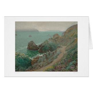 The Golden Gate from Ocean Cliff (1154) Card