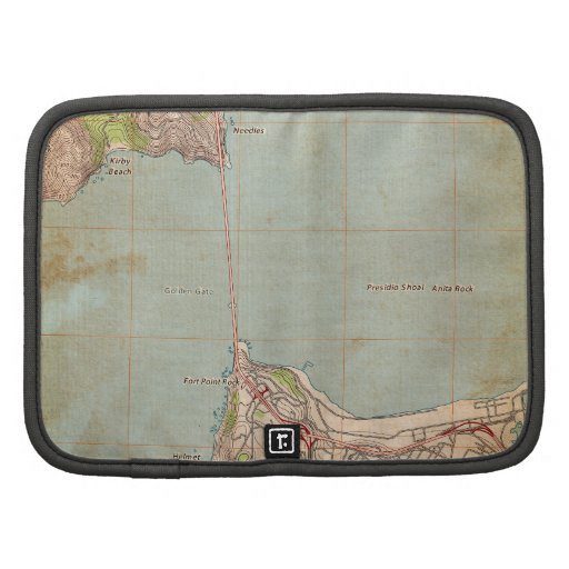 The Golden Gate Topographic Map Planners