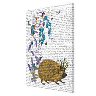 The Golden Hedgehog Canvas Print