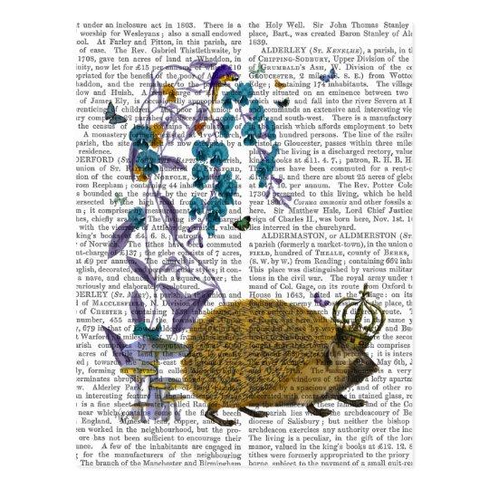 The Golden Hedgehog Postcard