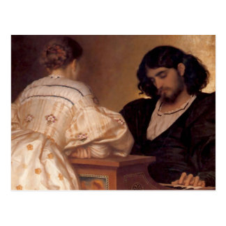 The Golden Hours - Lord Frederick Leighton Postcard