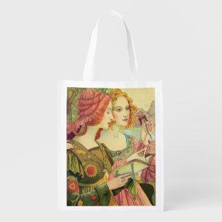 The Golden Legend, 1897, from 'L'Estampe Moderne', Reusable Grocery Bag