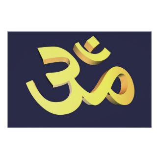 The Golden Om Poster