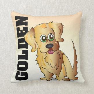 The Golden Retriever Pillow Throw Cushion