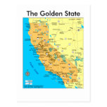 The Golden State Postcard