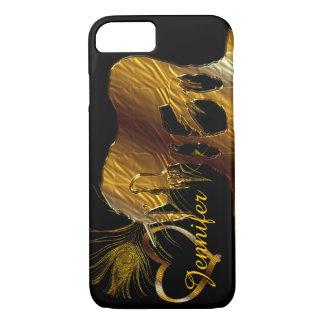 The Golden Unicorn (black) iPhone 7 Case