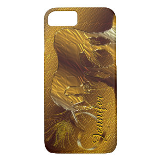 The Golden Unicorn (gold) iPhone 7 Case