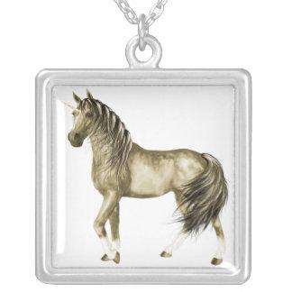 the Golden Unicorn Necklace