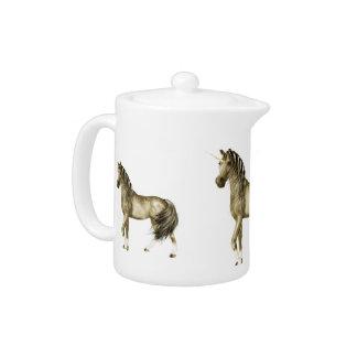 the Golden Unicorn Teapot