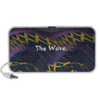 The Golden X Wave. iPod Speaker