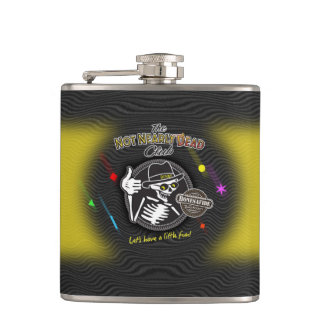 The Golden Years Moonbeam Yellow Hip Flask