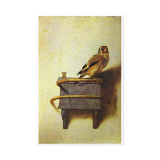 The Goldfinch painting reproduction Gallery Wrapped Canvas