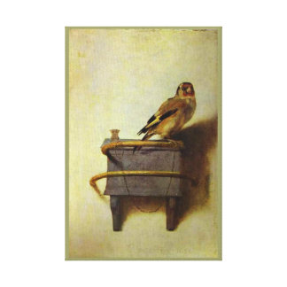 The Goldfinch painting reproduction Gallery Wrap Canvas