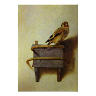 The Goldfinch painting reproduction Posters