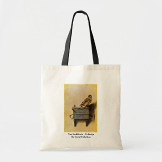 The Goldfinch Puttertje By Carel Fabritius Bag