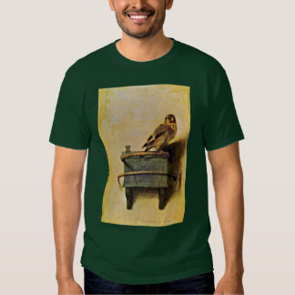 The Goldfinch., Puttertje  By Carel Fabritius Tshirts