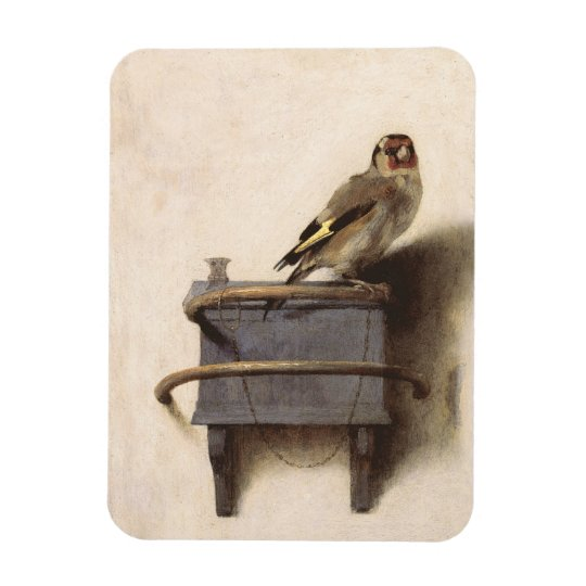 The Goldfinch Rectangular Photo Magnet