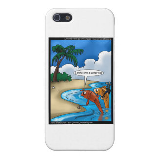 The Golfing Fish Funny Cards & Other Gifts Case For iPhone 5/5S