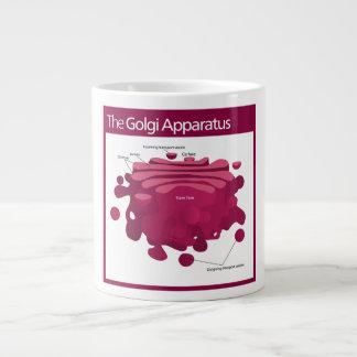 The Golgi apparatus Golgi complex Diagram Jumbo Mug