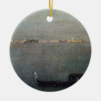 The Gondola on the Lagoon Christmas Ornament