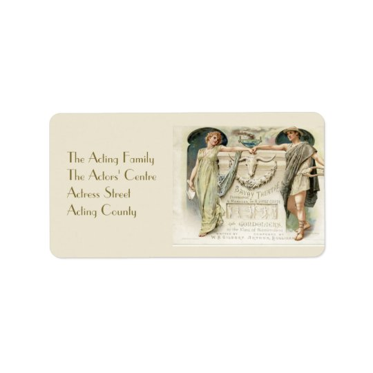 The Gondoliers Label