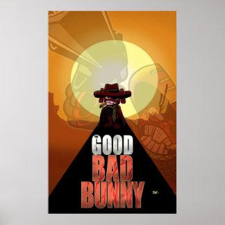 The Good Bad Bunny Print