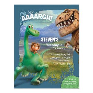The Good Dinosaur Birthday Card