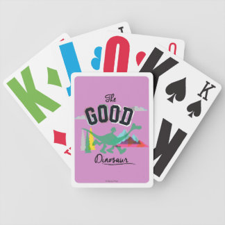 The Good Dinosaur Spot And Arlo Bicycle Playing Cards