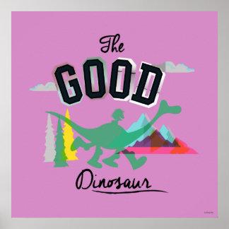 The Good Dinosaur Spot And Arlo Poster