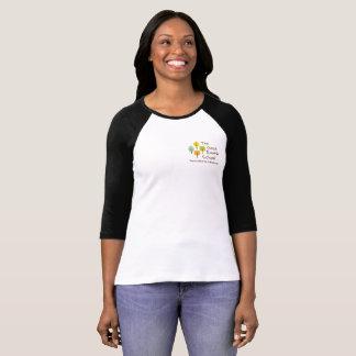 The Good Earth School Ladies 3/4 sleeve - contrast T-Shirt