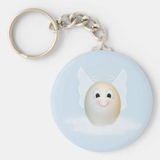 The Good Egg Angel Keychains