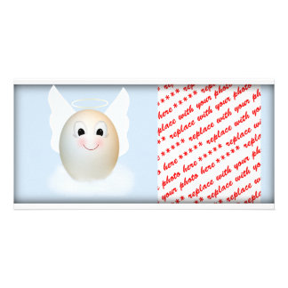 The Good Egg Angel Personalized Photo Card