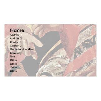 The Good Fate Detail By La Tour Georges De Business Card Template
