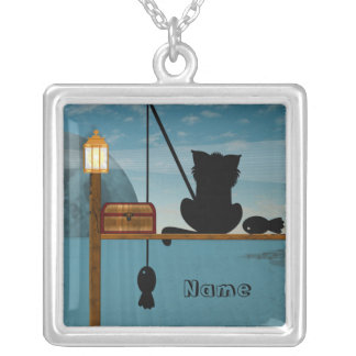 The Good Life Square Pendant Necklace