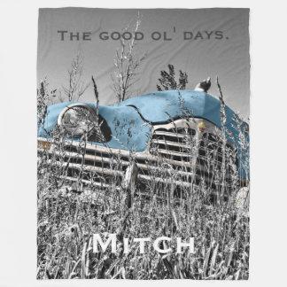 The Good Ol' Days 2 - PLUSH Large Fleece Blanket