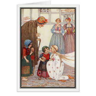 The Good Queen by Millicent Sowerby Greeting Card